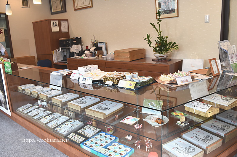 Kasuga-an is a Japanese sweets shop in Naramachi of Nara city,Japan