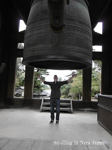 東大寺の鐘楼(しょうろう)