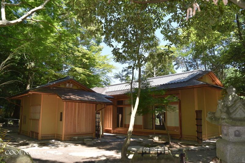 瑜伽山園地(ゆうがやまえんち)茶室